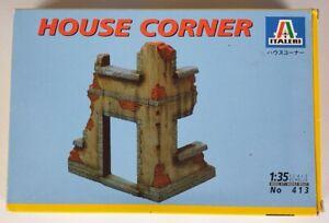 (204) 1990's Italeri 1/35th House Corner