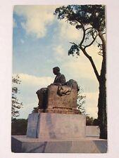 Harvey Samuel Firestone Tire Statue in Akron, Ohio Summit County Chrome Postcard