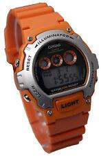 Casio Watch , Digital , Vibrant Orange , W-214H-4AVEF , Brand New Sent 1st Class
