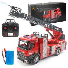Huina 1561 Ferngesteuerte Feuerwehrleute LKW Drehleiter 1:14 RC 22 Kanäle - NEU