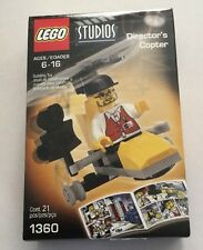 Lego 1360 Studios Director's Copter RARE NEW Sealed 2001 21 Pieces