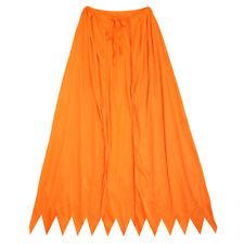 "32"" Orange Cape ~ HALLOWEEN SUPERHERO, RENAISSANCE, COSTUME PARTY SAWTOOTH CAPE"