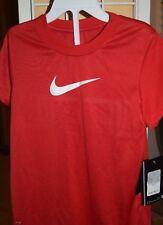 New Nike Girls Red Dri-fit Shirt   Size 6x