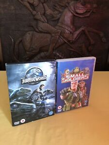 Jurassic World DVD & Small Soldiers DVD Rated 12 bundle Family Entertainment TV