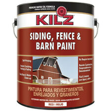 Kilz Red Oil/Water Siding, Fence and Barn Paint 1 gal.