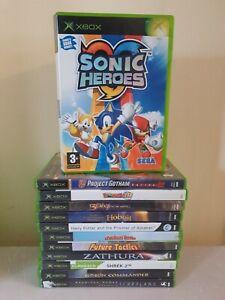Xbox Original Games Bundle | 12 games | Tested | #57