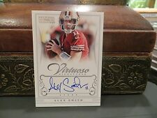 National Treasures Virtuoso On Card  Autograph Chiefs Alex Smith 02/25  2012