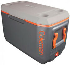 Coleman Chest Cooler 70 Qt. Xtreme Cup Holders Insulated Lid Drainage Dispenser