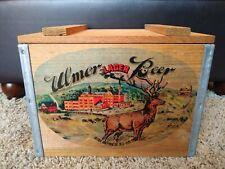 Rare Vintage Ulmer Beer Crate Ulmer Brewing Comany New Ulm Minnesota