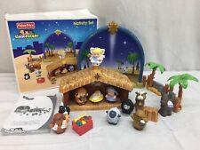 Fisher Price Little People Nativity Set Nativity Set Original Box **Incomplete**