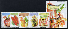 Laos 1237-42 MNH Insect Eating Plants, Flowers