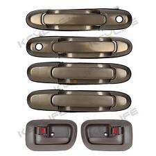 6pcs For 98-03 TOYOTA SIENNA Exterior Interior Door Handle Front Rear Left Right