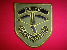AATTV Australian Army Training Team PERSEVERE Vietnam War Subdued Patch