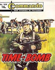 Commando For Action & Adventure Comic Book Magazine #1638 TIME-BOMB