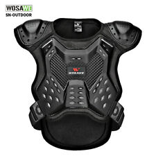 Youth Motorcycle Armor Jacket Spine Chest Protector Moto Motorbike Body Guards