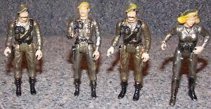 Vintage 1980s MEGO Eagle Force Lot of 4 Die Cast Figures
