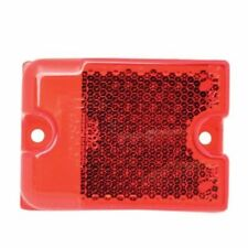 Wesbar Boat Trailer Red Side Marker Replacement Lens w/Reflector 3342