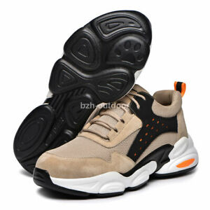 Unisex Steel Toe Safety Shoes Anti Puncture Work Boots Super Light Work Sneakers
