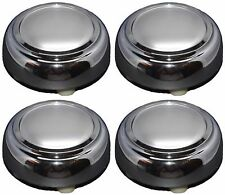 SET 4 NEW CHROME WHEEL HUB CENTER CAPS COVERS FOR 93-97 CROWN VICTORIA TOWN CAR