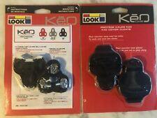 New-in-Package LOOK Keo Cleats Black (0º float) + Keo Covers