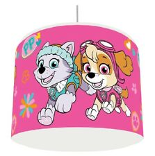 PINK PAW PATROL GIRLS LIGHT LAMPSHADE KIDS ROOM matches duvet set   FREE P&P