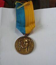 Jolie médaille bronze art-déco: Union Fédérale des combattants