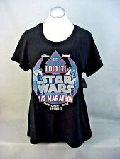 2017 Star Wars Half Marathon The Light Side 13.1 Miles Disneyland T-Shirt 2Xl