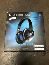 Logitech UE Ultimate Ears TM 6000 Black Headphones Made For iPod iPhone iPad