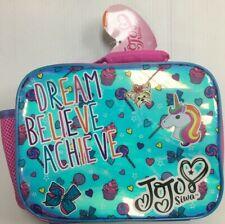Jojo Siwa Dream Believe Achieve Lunch Bag Nickelodeon  Nickelodeon Girls Lunch