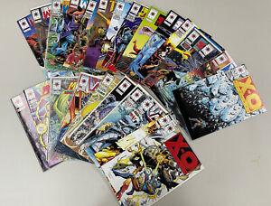 Valiant Comics Lot of 25: MAGNUS~X-O MANOWAR~ETERNAL WARRIOR~TUROK~SOLAR