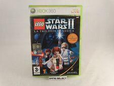 LEGO STAR WARS II 2 LA TRILOGIA CLASSICA MICROSOFT XBOX360 PAL ITALIANO COMPLETO
