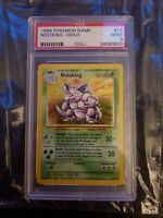 1999 Pokemon Game Nidoking Holo 11/102 PSA Graded Mint 9