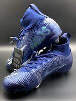 NIKE JR SUPERFLY 7 ELITE MDS ACC FG Size 5y BQ5420-401 'Dream Speed' Blue Void
