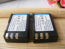 TWO (2)Battery for Nikon EN-EL9 D40X D40 D60 D5000 D3000 S6400 EL9a MH-23 ENEL9