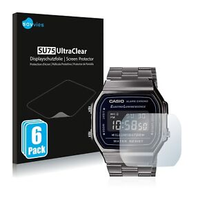 Screen Protector for Casio A168WEGG-1BEF Protective Film Shield Ultra Clear