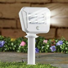 Motion-Activated Adjustable Wireless LED Security Spotlight Garden Stake