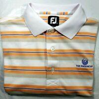 Footjoy FJ Men's Short Sleeve Polo Golf Shirt The Phoenician Logo Sz. M