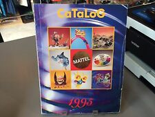 RARE MATTEL TOY FAIR CATALOG 1995 MIGHTY MAX STREET SHARKS HOT WHEELS DISNEY