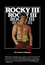 "ROCKY III (3) Movie Poster [Licensed-NEW-USA] 27x40"" Theater Size (1982)"