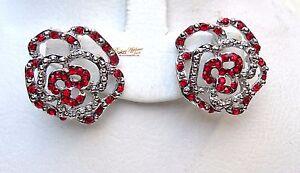 Beautiful Stud Earring Purple Blue Red Jewellery Gift For Ladies
