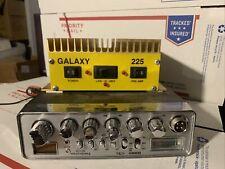Uniden PC78XL CB Radio and Galaxy 225 Amp