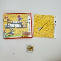 Nintendo 3DS Super Mario Bros. 2 Rated Everyone(E) Adventure Video Game Complete
