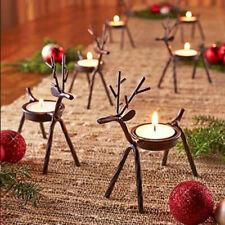 New ListingReindeer Tea Light Holder Christmas Table Candles Elk Holder Tealight Holders