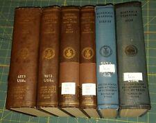 """1930 thru 1934 """"Minerals Yearbook"""" 5 years total. U.S. Bureau of Mines Hardbound"""