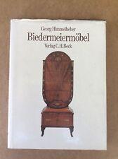 BIEDERMEIERMOBEL by GEORG HIMMELHEBER. published 1987 Munchen. Text in GERMAN.
