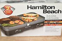 Hamilton Beach 3-in-1 Grill & Griddle