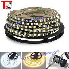 5M 2835 SMD 600Leds cool white Flexible LED Strip 12V Black PCB IP65 waterproof