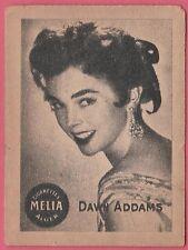 Cigarettes Melia Algeria Rare 1950s Film Star Tobacco Card - Dawn Addams