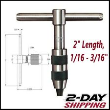 Starrett Heavy Duty T Handle Tap Wrench 93a New In Box