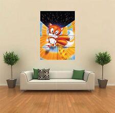 Tails Sonic The Hedgehog Nuevo Gigante gran impresión de arte cartel Imagen Pared G398